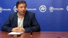 Adolfo Sainz en rueda informativa. /SN