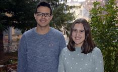 Claudia Pascual y Mario Palomar./ Jta.