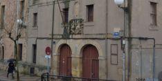 Fachada del antiguo colegio universitario de Soria