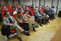 Imagen del encuentro este jueves en la Cámara. /SN