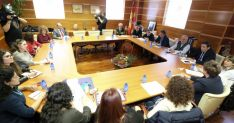 Reunión con la Federación de Enfermedades Raras y las asociaciones regionales./Jta.