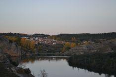 Imagen del río Duero desde la presa del Embalse de Los Rábanos. /SN