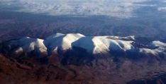 Reciente imagen aérea del Moncayo./SN