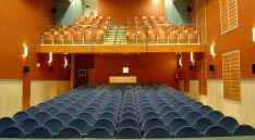 La sala del centro cultural.