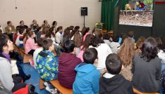 Imagen del CEIP Doce Linajes en la presentación del nuevo programa de educación ambiental./Jta.