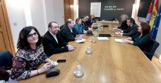 Reunión Junta y sindicatos este lunes. /Jta.