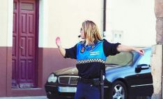 Una vigilante municipal de la región./SN