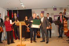 Foto 3 - La Diputación de Soria entrega los Premios de Poesía Leonor y Gerardo Diego a José Manuel Martín y Álvaro López