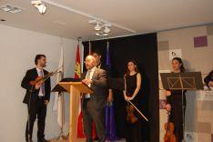 Foto 4 - La Diputación de Soria entrega los Premios de Poesía Leonor y Gerardo Diego a José Manuel Martín y Álvaro López