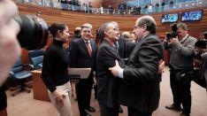 Celebración del XXXIV aniversario del Estatuto de Castilla y León.