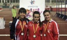 Natalia Tejedor e Isabel Hernández también tuvieron medallas. /Enrique Márquez