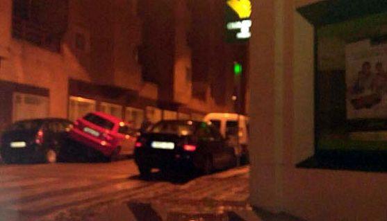 Imagen del aparatoso accidente.