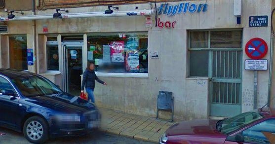 El bar Ayllón donde se selló el boleto.