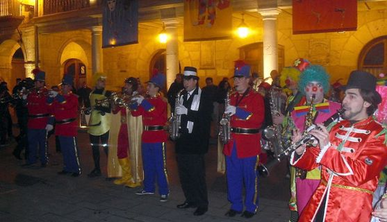 Imagen del carnaval en El Burgo. /ABO