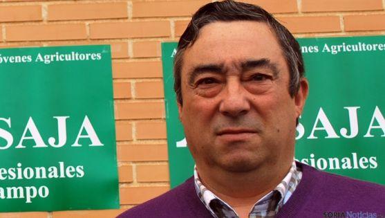Carmelo Gómez, presidente de ASAJA-Soria. / SN