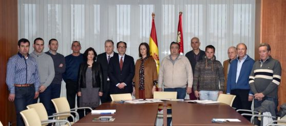 Miembros del Consejo Agrario Provincial de Soria. /Jta.