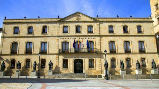 Imagen del Palacio Provincial, en la calle Caballeros. /SN