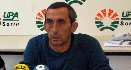 Raúl Ramírez, de UPA Soria. /SN