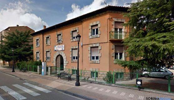 El centro de salud de San Leonardo de Yagüe. /SN