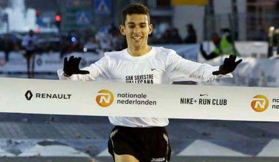 David Bascuñana, uno de los atletas.
