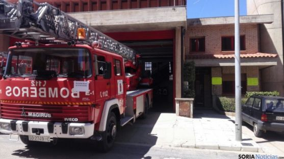Imagen de un camión de bomberos/SN