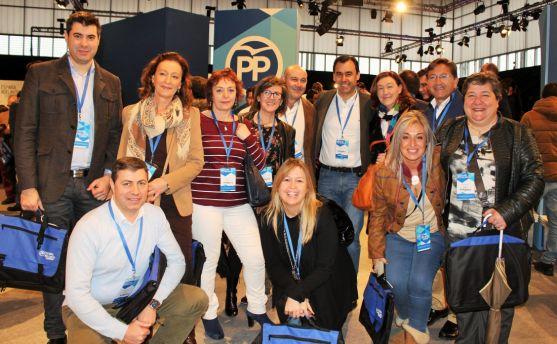 Representantes del PP soriano con Martínez Maíllo. /PP