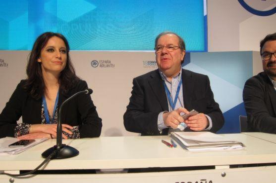 Juan Vicente Herrera en el Congreso Nacional del PP.
