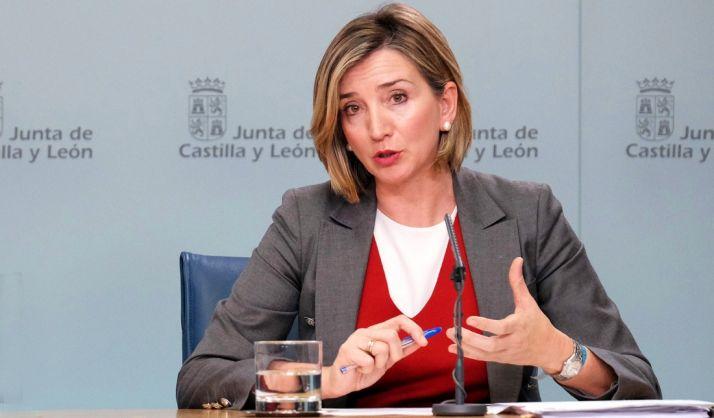 Alicia García, consejera de Familia e Igualdad. / Jta