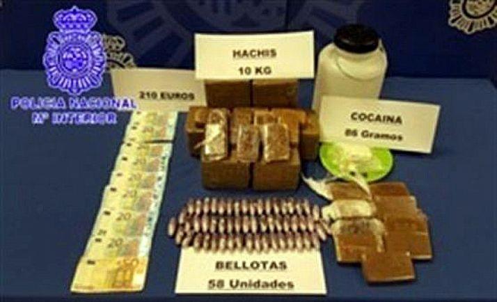 Droga incautada por la Policía. /CNP