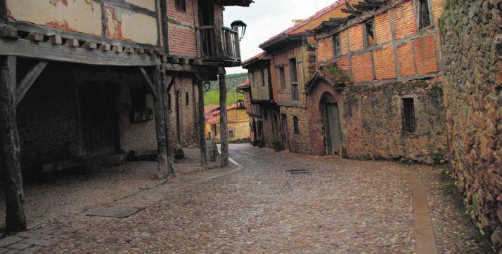 Una de las calles de Calatañazor. /SN