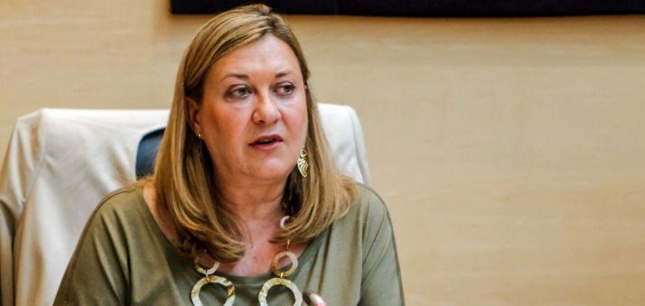 La consejera de Hacienda, Pilar del Olmo.