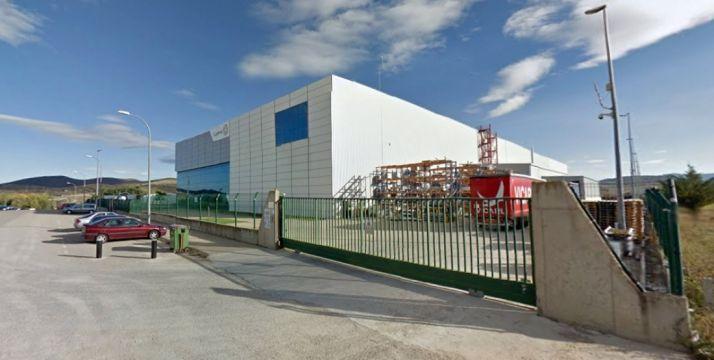 Vista parcial de la fábrica agredeña. /SN