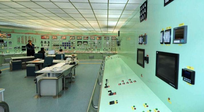 Una de las dependencias de la central./Nuclenor