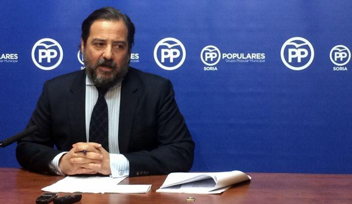 José Manuel Hernando, concejal del PP en la capital.
