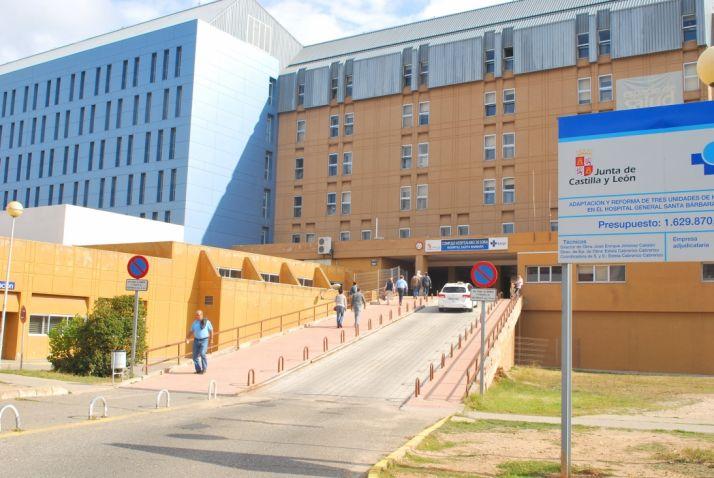 Hospital de Santa Bárbara en Soria.