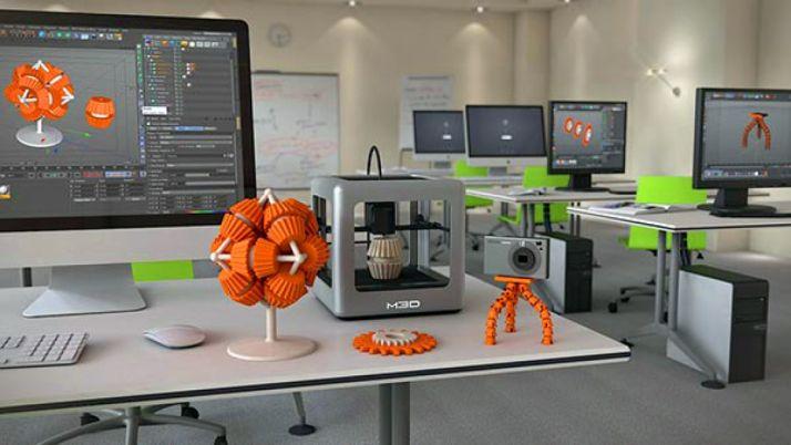 Una impresora 3D en una sala de ordenadores. /SN