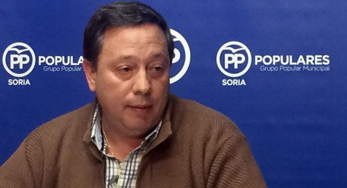 Sainz, concejal del PP.