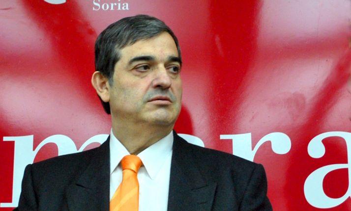 Alberto Santamaría este jueves en la sede cameral. /SN