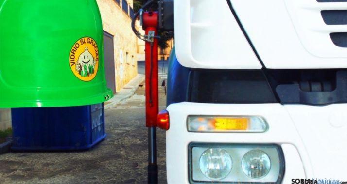 Cifras positivas de reciclaje en Soria.