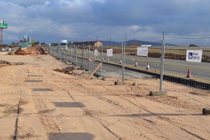 Obras en la fábrica de Losán en Soria