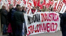 Momento de la manifestación./ Patricia Lapresta