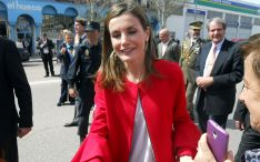 La Reina, este jueves en Soria./SN