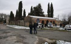 Imagen de la exhumación este jueves./SN