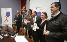 Imagen de la presentación del programa previsto por la Junta para la efeméride. /SN