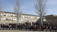 Imagen de la visita de SM a Soria. /SN