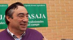 Carmelo Gómez, presidente de ASAJA-Soria. /SN