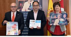 Modesto Fernández, Manuel López y María Paz Gil este miércoles. /Jta.