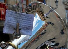 Una partitura de ' Soria, la gloria de España'./SN