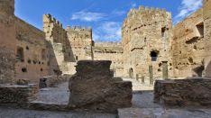 Imagen interior del castillo. /Subdelegación del G.