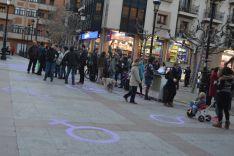 Imagen de la plaza de San Esteban este miércoles por la tarde. /SN